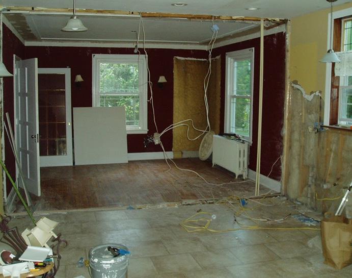 بازسازی فضاهای داخلی ساختمان