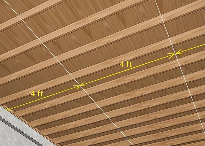روش اجرای سقف کاذب