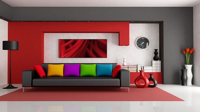 رنگ شناسی در دکوراسیون داخلی