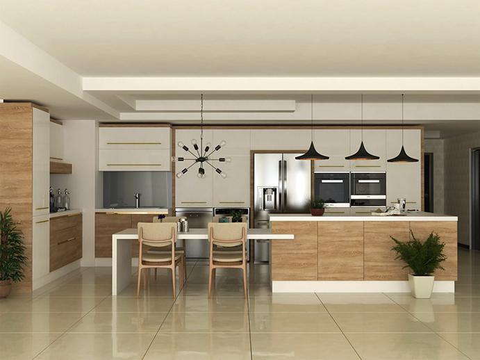 طراحی و چیدمان آشپزخانه مدرن