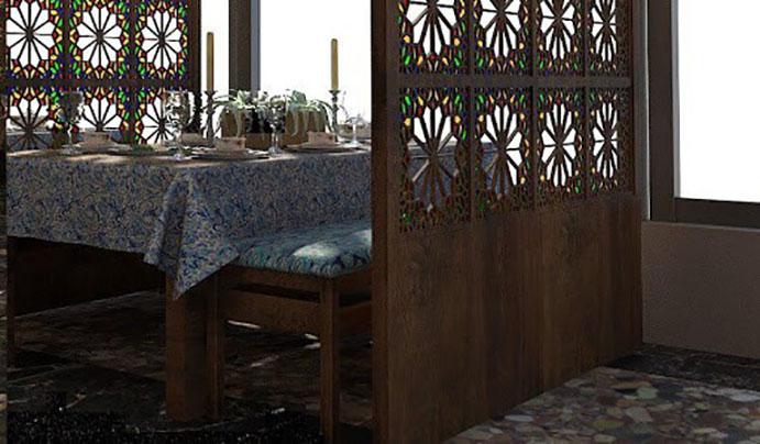 ایدههایی برای دکوراسیون رستوران سنتی