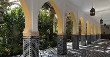 ویژگیهای معماری مراکشی