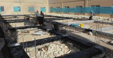 کرسیچینی در ساختمان بنایی