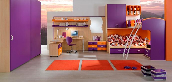طراحی و دکوراسیون اتاق کودک