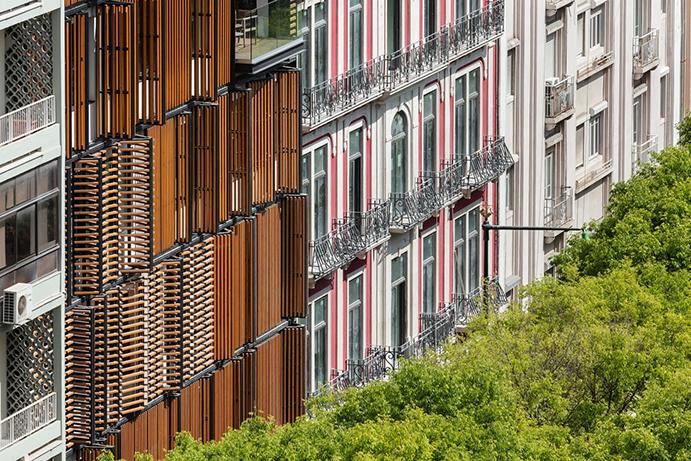 راهکارهایی برای نماکاری ساختمانهای مسکونی