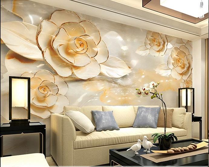 انواع نقاشی و کاغذ دیواری