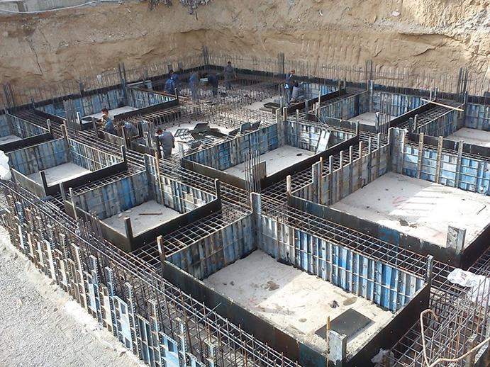 روشهای اجرایی پیسازی ساختمان