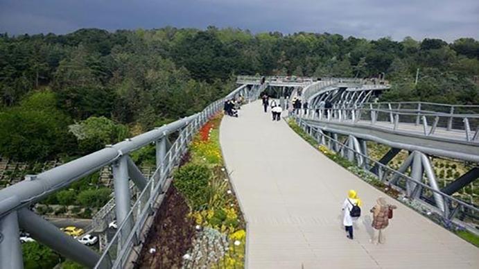 پل عباس آباد تهران